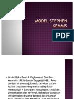 Model Stephen Kemmis