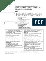 Requicitos Licencia de Funcionamiento Juridicos