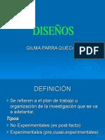 DISEÑOS-EXPOSTFACTO