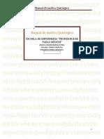 Manual de medico Quirúrgico alondra Quiñones