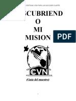 DESCUBRIENDO MI MISION - Maestro- (1).doc