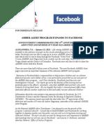 AMBER Alert Press Release