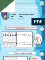 MOVIMIENTO Y CAPTURA DEL PEÓN Y DEL CABALLO
