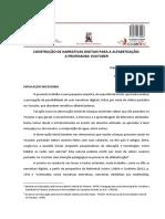 CONSTRUÇÃO DE NARRATIVAS DIGITAIS PARA A ALFABETIZAÇÃO