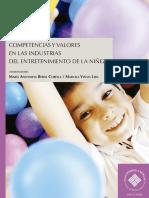 Competencias y valores en las industrias del entretenimiento de la niñez
