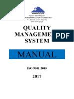 MNWD QMS Manual Generalization FINAL DRAFT.docx