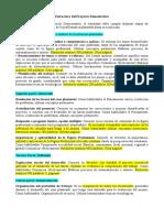 Estructura del Proyecto Demostrativo