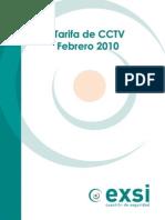 EXSI Tarifa CCTV 2010