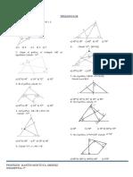 triángulos 5°