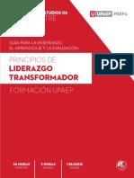 Principios de liderazfo transformador-Plan de estudios UPAEP 2020 4to semestre
