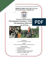 Monog-Mov. Sociales-Violecia peru UPT