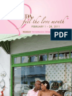 Bermuda Feel the Love Month 2011 Brochure