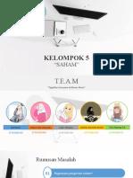 PPT KEL.5 PUPM (SAHAM)
