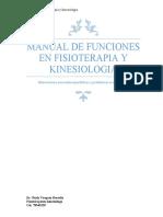 manual de funciones en fisioterapia y kinesiologia