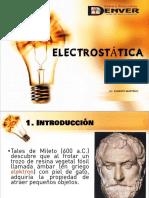 ELECTROSTATICA I PARTE