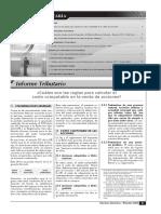 ARRASTRE DE PERDIDAD TRIBUTARIAS RENTA TERC.CATEGORIA