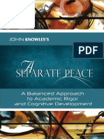 A Separate Peace Complete Skill Based Approach