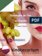 Variación y Tipos de Uvas en España