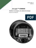 Manual Ion 8600