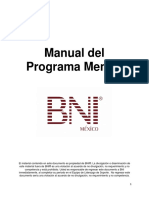 Manual Programa Mentor