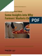 Why Farmers Markets Fail