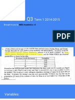 FACPLAD Q3 2015 - Explanation to Solutions