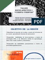 TALLER SOCIO-AFECTIVO I