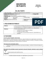 descriptor de puestos, Jorge Mario Diaz Cruz