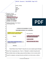 Cullen v Zoom N.distictofCA Zoom Complaint v.6 Zoom Class Action Lawsuit