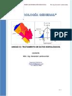 M 02. OBTENCION Y TRATAMIENTO DE INF HIDROLOGICA