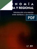 Polese, Mario (1998) - Economía Urbana y Regional