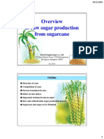 1. Overview of raw cane sugar process-s