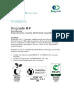 Biograde B-F