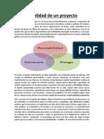WORD VIABILIDAD DE LOS PROYECTOS