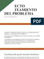 PROYECTO PLANTEAMIENTO DEL PROBLEMAinforme final