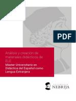 Análisis y creación de materiales didácticos ELE