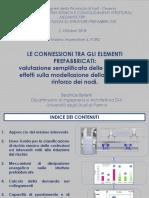 3) Connessioni elementi prefabbricati Prof. B. Belletti 2018_10_02