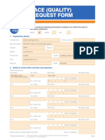 NQA Aerospace Quote Request Form - IND