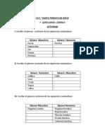 ACTIVIDAD DE GÉNERO Y NÚMERO - 6° - SEM 9.pdf