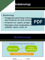 Bioteknologi Pertanian PENDAHULUAN