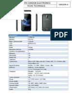 fiche technique PFS204-FTouche