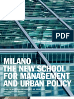 Milano The New School for Management and Urban Policy / Viewbook 2010