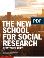 The New School for Social Research / Viewbook 2010