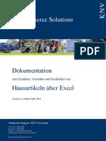 Dokumentation_Hausartikel_Excel