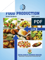 Food Production X Book