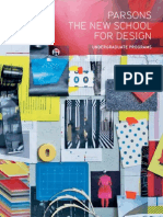 Parsons The New School for Design / Undergraduate Viewbook 2010