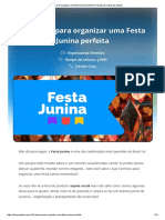 festa junina perfeita em 10 passos _ACS