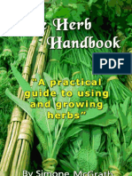 The Herb Handbook_ A Practical Guide to  - Simone McGrath
