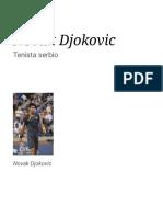 Novak Đoković citas