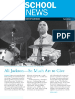 The New School for Jazz and Contemporary Music / Alumni Newsletter Fall 2010